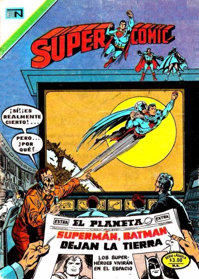 Cover for Supercomic (Editorial Novaro, 1967 series) #116