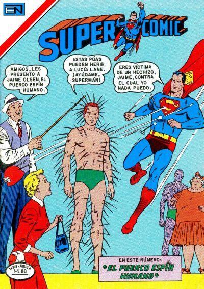 Cover for Supercomic (Editorial Novaro, 1967 series) #160