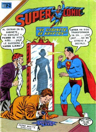 Cover for Supercomic (Editorial Novaro, 1967 series) #164