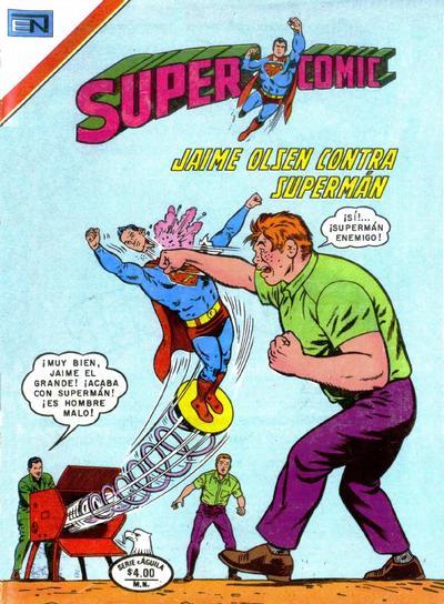 Cover for Supercomic (Editorial Novaro, 1967 series) #165
