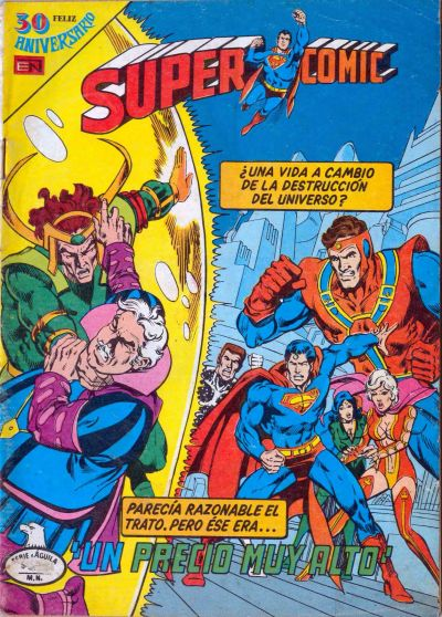 Cover for Supercomic (Editorial Novaro, 1967 series) #192