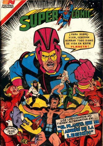 Cover for Supercomic (Editorial Novaro, 1967 series) #210