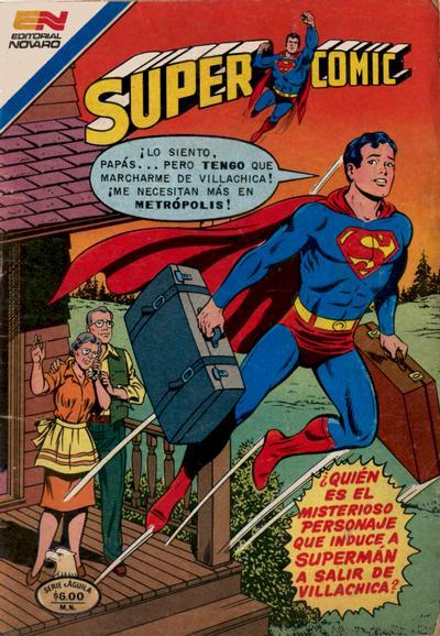 Cover for Supercomic (Editorial Novaro, 1967 series) #216