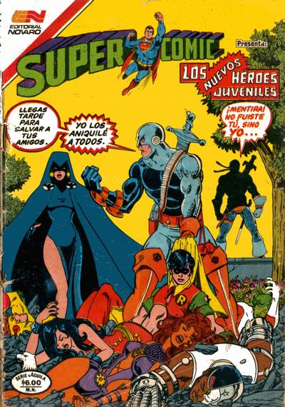 Cover for Supercomic (Editorial Novaro, 1967 series) #225