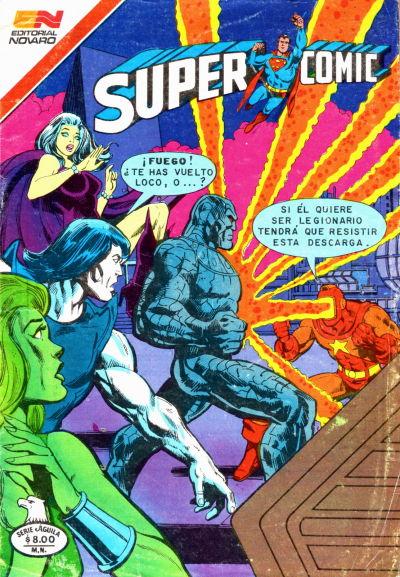 Cover for Supercomic (Editorial Novaro, 1967 series) #250