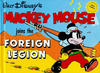 Cover for The Walt Disney Best Comics Series (Abbeville Press, 1980 series) #[3] - Mickey Mouse Joins the Foreign Legion