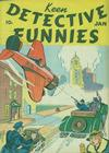 Cover for Keen Detective Funnies (Centaur, 1938 series) #v2#1