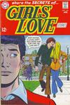 Cover for Girls' Love Stories (DC, 1949 series) #142