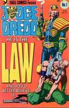Cover for Judge Dredd (Eagle Comics, 1983 series) #1