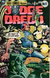 Cover for Judge Dredd (Eagle Comics, 1983 series) #11