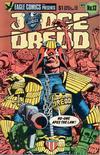 Cover for Judge Dredd (Eagle Comics, 1983 series) #13
