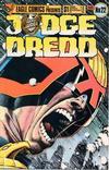 Cover for Judge Dredd (Eagle Comics, 1983 series) #22