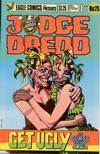 Cover for Judge Dredd (Eagle Comics, 1983 series) #25