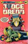 Cover for Judge Dredd (Eagle Comics, 1983 series) #27