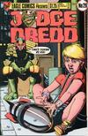 Cover for Judge Dredd (Eagle Comics, 1983 series) #29