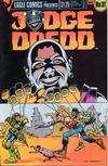 Cover for Judge Dredd (Eagle Comics, 1983 series) #31