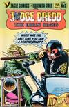 Cover for Judge Dredd: The Early Cases (Eagle Comics, 1986 series) #3