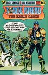 Cover for Judge Dredd: The Early Cases (Eagle Comics, 1986 series) #5