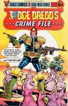 Cover for Judge Dredd's Crime File (Eagle Comics, 1985 series) #4