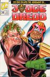 Cover for Judge Dredd (Fleetway/Quality, 1987 series) #34