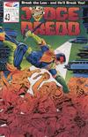 Cover for Judge Dredd (Fleetway/Quality, 1987 series) #43