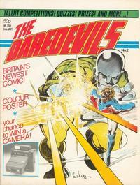 Cover Thumbnail for The Daredevils (Marvel UK, 1982 series) #2