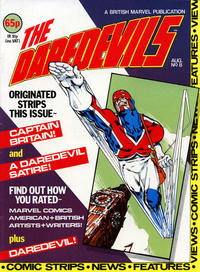 Cover Thumbnail for The Daredevils (Marvel UK, 1982 series) #8
