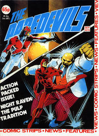 Cover Thumbnail for The Daredevils (Marvel UK, 1982 series) #9