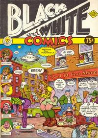 Cover Thumbnail for Black and White Comics (Apex Novelties, 1973 series)