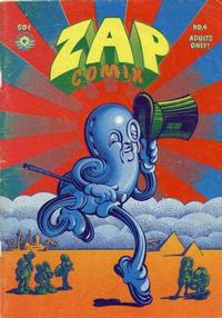 Cover Thumbnail for Zap Comix (The Print Mint Inc, 1969 series) #4