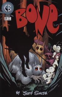 Cover Thumbnail for Bone (Cartoon Books, 1997 series) #34