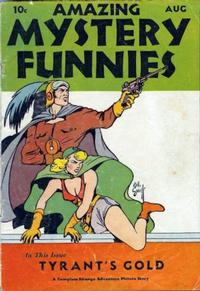 Cover Thumbnail for Amazing Mystery Funnies (Centaur, 1938 series) #v1#1