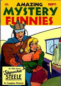 Cover Thumbnail for Amazing Mystery Funnies (Centaur, 1938 series) #v1#2