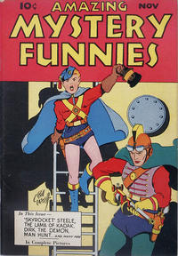 Cover Thumbnail for Amazing Mystery Funnies (Centaur, 1938 series) #v1#3[a]