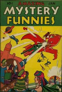 Cover Thumbnail for Amazing Mystery Funnies (Centaur, 1938 series) #v2#1