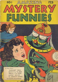 Cover Thumbnail for Amazing Mystery Funnies (Centaur, 1938 series) #v2#2