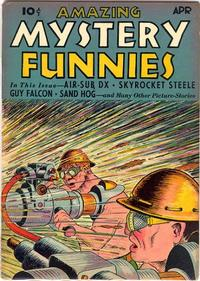 Cover Thumbnail for Amazing Mystery Funnies (Centaur, 1938 series) #v2#4
