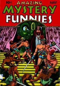 Cover Thumbnail for Amazing Mystery Funnies (Centaur, 1938 series) #v2#5