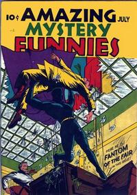 Cover Thumbnail for Amazing Mystery Funnies (Centaur, 1938 series) #v2#7