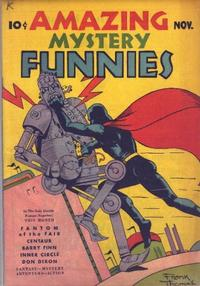 Cover Thumbnail for Amazing Mystery Funnies (Centaur, 1938 series) #v2#11