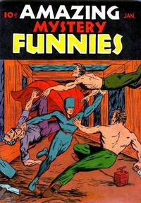 Cover Thumbnail for Amazing Mystery Funnies (Centaur, 1938 series) #v3#1