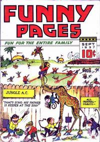 Cover Thumbnail for Funny Pages (Ultem, 1937 series) #v2#1