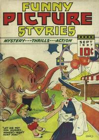 Cover Thumbnail for Funny Picture Stories (Ultem, 1937 series) #v2#1