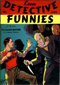 Cover Thumbnail for Keen Detective Funnies (Centaur, 1938 series) #v1#9