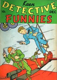Cover Thumbnail for Keen Detective Funnies (Centaur, 1938 series) #v1#11