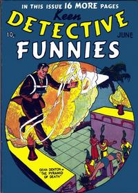 Cover Thumbnail for Keen Detective Funnies (Centaur, 1938 series) #v2#6