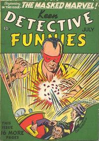 Cover Thumbnail for Keen Detective Funnies (Centaur, 1938 series) #v2#7