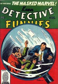 Cover Thumbnail for Keen Detective Funnies (Centaur, 1938 series) #v2#8