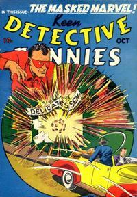 Cover Thumbnail for Keen Detective Funnies (Centaur, 1938 series) #v2#10