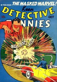 Cover Thumbnail for Keen Detective Funnies (Centaur, 1938 series) #v2#10